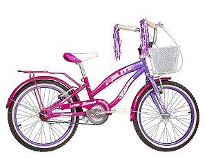 Bicicleta Blitz Luna aro 20 Feminina cor Rosa