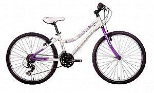 Bicicleta Soul Flora aro 24 Feminina Branca