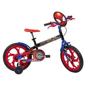 Bicicleta Infantil Caloi Spider Man Aro 16 2020