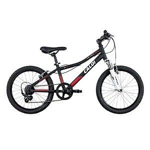 Bicicleta Caloi Wild XS Aro 20 Preta