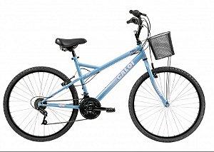 Bicicleta Aro 26 Masculina - Caloi Aspen Ventura - 21 Velocidades - Aço - Azul