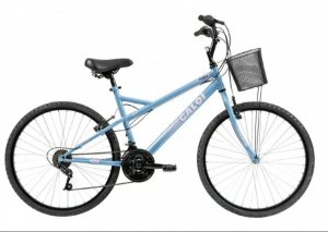 Bicicleta Caloi Aspen Ventura Feminina Azul