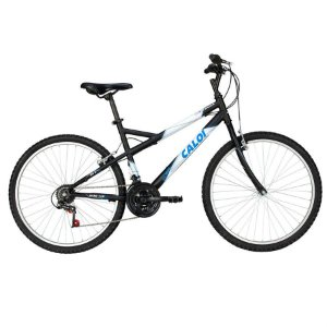 Bicicleta Caloi Montana aro 26 Masculina Preta
