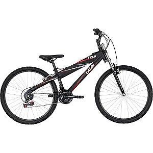 Bicicleta Caloi TRS aro 26 Preta