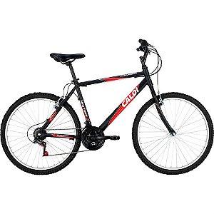 Bicicleta Caloi Aluminum aro 26 Preta