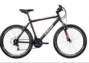Bicicleta Caloi Aluminum Sport aro 26 Preta