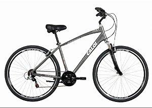 Bicicleta Masculina - Caloi 700 - Alumínio - Cinza