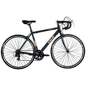 Bicicleta Speed Caloi 10 aro 700 Preta