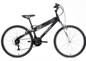 Bicicleta Caloi Star Wars aro 26 Preta