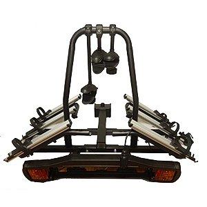 Suporte Rack para Engate para 3 Bicicletas com Sinalizador