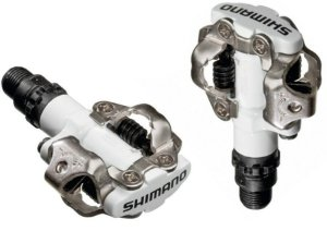 Pedal Shimano MTB PD-M520 com Taco Branco