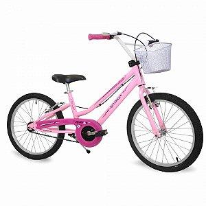 Bicicleta Nathor Bella Aro 20 Rosa