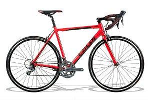 Bicicleta Speed Caloi Strada Claris Vermelha