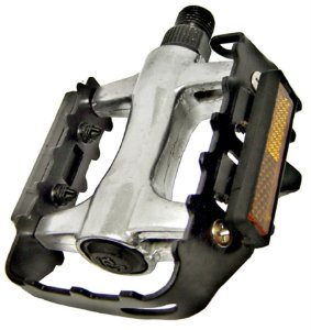 Pedal Alumínio MTB ½ Feimin Borda Aço Sueco