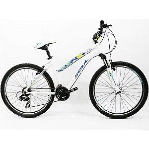Bicicleta Soul Flora Branca Feminina Aro 26