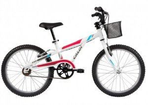 Bicicleta Infantil Caloi Sweet Branca Aro 20