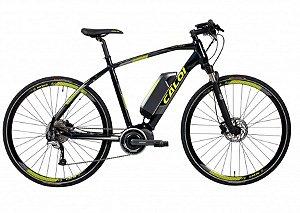 Bicicleta Elétrica Aro 29 - Masculina - Caloi E-Vibe City Tour - Shimano Acera - Alumínio