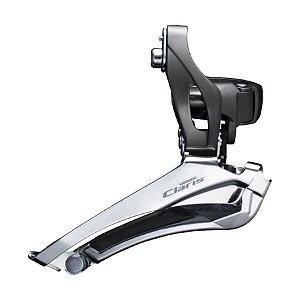 Câmbio Dianteiro Shimano Claris R2000 Duplo 34.9mm