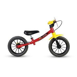 Bicicleta Infantil Nathor Balance Fast Aro 12 2020