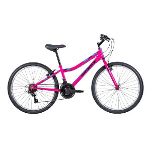 Bicicleta Infantil Aro 24 - Groove Indie - 21 Velocidades - Aço - Rosa Neon