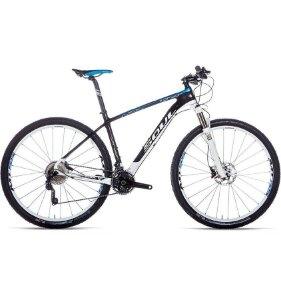 Bicicleta MTB Soul SL 929 Carbon Dynasis aro 29 Preta 2015