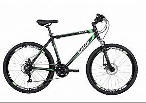 Bicicleta Caloi HTX Disc aro 26 Masculina Preta