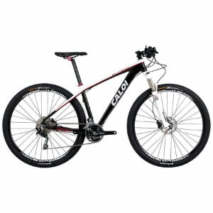 Bicicleta MTB Caloi Elite 30 aro 29 Preto Shimano
