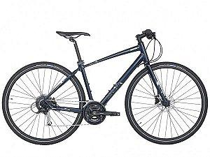 Bicicleta Aro 700 - Caloi City Tour Comp 2021 - Shimano Alivio - Alum - Azul