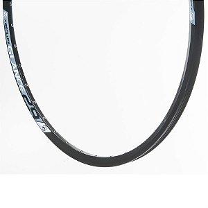 Aro 29 - 32/36 Furos - Absolute Glance Disco - Folha Dupla - Alumínio - Preto
