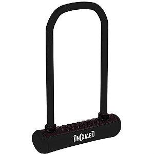 Cadeado P/ Bicicleta - Onguard - U-Lock - Aço Temperado - Preto