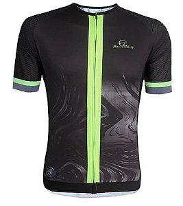 Camisa Mauro Ribeiro Magma Verde Flúor