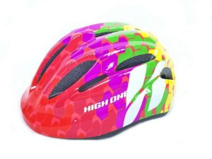 Capacete Infantil High One Piccolo Rosa