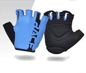 Luva Kode 4F Race Preto e Azul