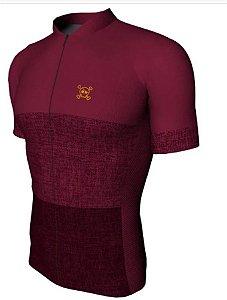 Camisa Damatta Skull Masculina Vinho