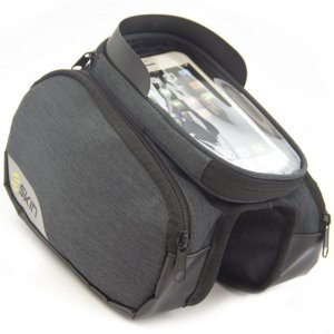 Bolsa de Quadro P/ Bicicleta - Skin Sport Cell - Celular e Acessórios - Cinza Escuro