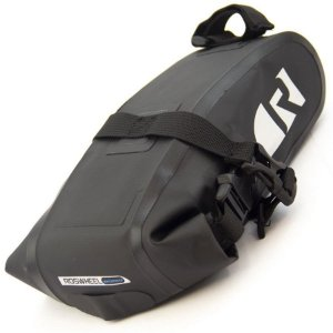 Bolsa de Selim P/Bicicleta - Roswheel - PVC Impermeável - Preto
