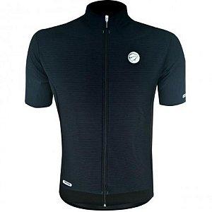 Camisa de Ciclismo - Mauro Ribeiro - Garbo - Masculina - Preto