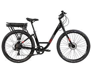 Bicicleta Elétrica Aro 27.5 - Caloi E-Vibe Urbam - Shimano Tourney - Alumínio