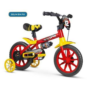 Bicicleta Infantil Nathor Motor X Aro 12