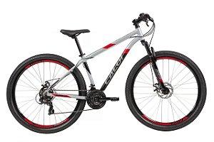 Bicicleta Aro 29 MTB - Caloi Supra - 21 Velocidades - Alumínio - Cores