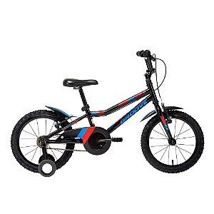 Bicicleta Infantil Aro 16 - Groove Ragga - Aço - Preta