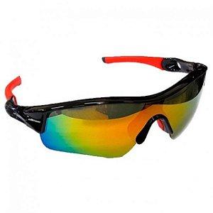 Óculos Elleven Mask Vermelho com Preto