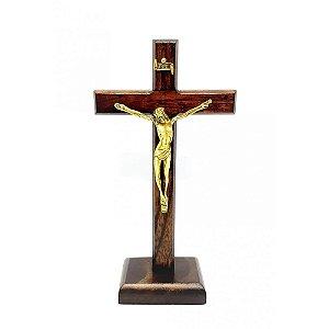 Crucifixo de mesa 18 cm / Cruz de Libertação