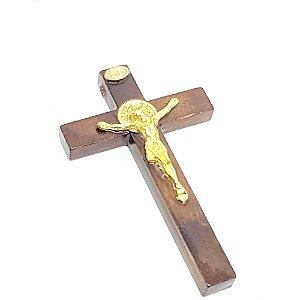 Crucifixo de porta com São Bento 7,5 cm
