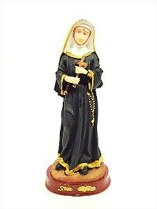 Imagem Santa Rita de Cássia 15 cm