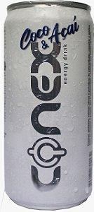 Energético CONEX sabor COCO&AÇAÍ Lata Pacote com 12 UND.