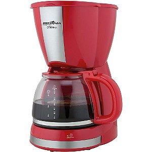 Cafeteira Elétrica Britânia CP30 - Vermelho/Inox