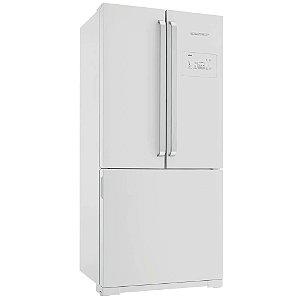 Refrigerador Brastemp 540 Litros, 3 Portas, Side Inverse BRO80