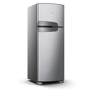 Geladeira Consul Frost Free Duplex 340 litros Evox com Prateleiras Altura Flex