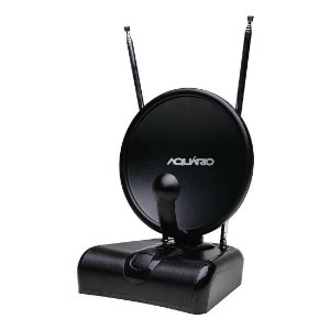 Antena Interna Aquário TV-500 HDTV, VHF, UHF